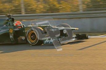 © 2012 Octane Photographic Ltd. Jerez Winter Test Day 4 - Friday 10th February 2012. Caterham CT01 - Jarno Trulli. Digital Ref : 0221lw1d8213
