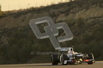 © 2012 Octane Photographic Ltd. Jerez Winter Test Day 4 - Friday 10th February 2012. Sauber C31 - Kamui Kobayashi. Digital Ref : 0221lw1d8273