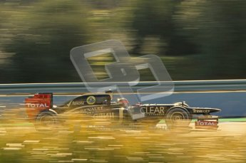 © 2012 Octane Photographic Ltd. Jerez Winter Test Day 4 - Friday 10th February 2012. Lotus E20 - Romain Grosjean. Digital Ref : 0221lw1d8912
