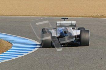© 2012 Octane Photographic Ltd. Jerez Winter Test Day 4 - Friday 10th February 2012. Sauber C31 - Kamui Kobayashi. Digital Ref : 0221lw1d9317