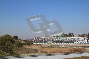 © 2012 Octane Photographic Ltd. Jerez Winter Test Day 4 - Friday 10th February 2012. Atmosphere. Digital Ref : 0221lw7d4224