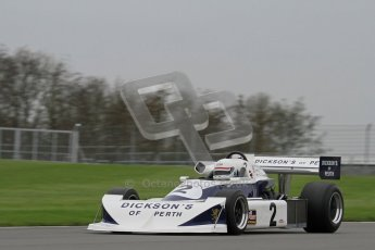 © Octane Photographic Ltd. Masters Racing – Pre-season testing – Donington Park, 5th April 2012. Single-seater classes. Digital Ref : 0272lw7d0078