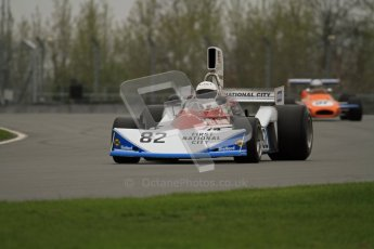 © Octane Photographic Ltd. Masters Racing – Pre-season testing – Donington Park, 5th April 2012. Single-seater classes. Digital Ref : 0272lw7d0090