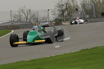© Octane Photographic Ltd. Masters Racing – Pre-season testing – Donington Park, 5th April 2012. Single-seater classes. Digital Ref : 0272lw7d0181
