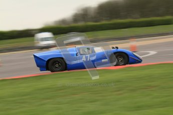 © Octane Photographic Ltd. Masters Racing – Pre-season testing – Donington Park, 5th April 2012. Sports and CanAm classes. Digital Ref : 0271cb7d6421