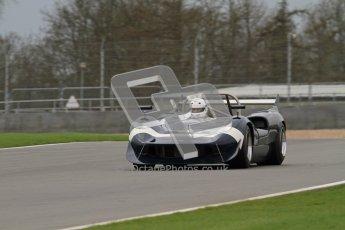 © Octane Photographic Ltd. Masters Racing – Pre-season testing – Donington Park, 5th April 2012. Sports and CanAm classes. Digital Ref : 0271lw7d1736