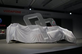 © 2012 Octane Photographic Ltd. Vodafone McLaren Mercedes Technical Car Launch MP4/27  Digital Ref : 0216lw1d2155