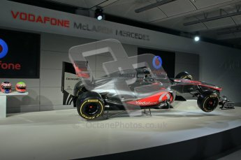 © 2012 Octane Photographic Ltd. Vodafone McLaren Mercedes Technical Car Launch MP4/27  Digital Ref : 0216lw1d2208