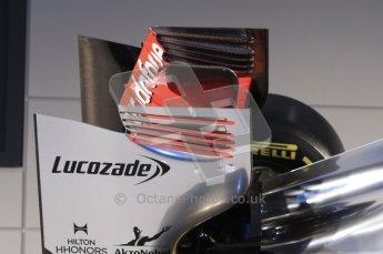 © 2012 Octane Photographic Ltd. Vodafone McLaren Mercedes Technical Car Launch MP4/27  Digital Ref : 0216lw7d1265