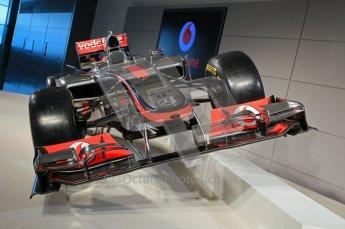© 2012 Octane Photographic Ltd. Vodafone McLaren Mercedes Technical Car Launch MP4/27  Digital Ref : 0216lw7d2241