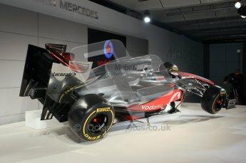 © 2012 Octane Photographic Ltd. Vodafone McLaren Mercedes Technical Car Launch MP4/27 Digital Ref : 0216lw7d2257