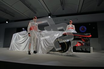 © 2012 Octane Photographic Ltd. Vodafone McLaren Mercedes Technical Car Launch MP4/27  Digital Ref : 0216lw7d2483