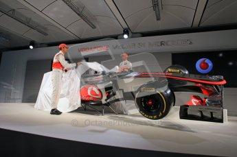 © 2012 Octane Photographic Ltd. Vodafone McLaren Mercedes Technical Car Launch MP4/27  Digital Ref : 0216lw7d2513