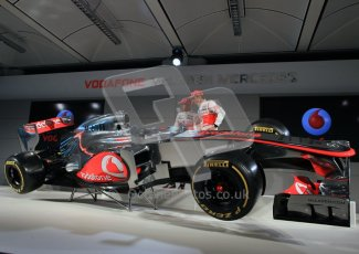 © 2012 Octane Photographic Ltd. Vodafone McLaren Mercedes Technical Car Launch MP4/27  Digital Ref : 0216lw7d2575