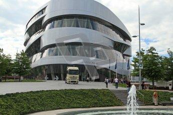 © Octane Photographic Ltd. Mercedes-Benz Museum – Stuttgart. Tuesday 31st July 2012. Digital Ref : 0442cb7d1239