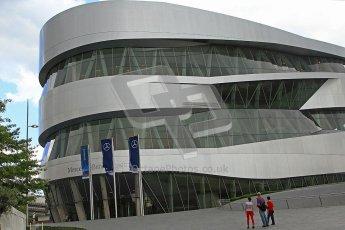 © Octane Photographic Ltd. Mercedes-Benz Museum – Stuttgart. Tuesday 31st July 2012. Digital Ref : 0442cb7d1390