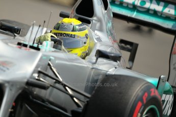 © Octane Photographic Ltd. 2012. F1 Monte Carlo - Practice 3. Saturday 26th May 2012. Nico Rosberg - Mercedes. Digital Ref : 0354cb1d6582