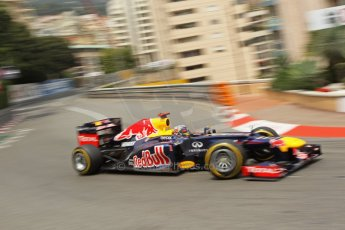 © Octane Photographic Ltd. 2012. F1 Monte Carlo - Race. Sunday 27th May 2012. Sebastian Vettel - Red Bull. Digital Ref : 0357cb1d7716