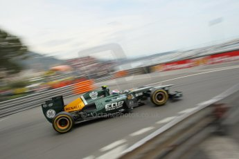 © Octane Photographic Ltd. 2012. F1 Monte Carlo - Race. Sunday 27th May 2012. Vitaly Petrov - Caterham. Digital Ref : 0357cb1d7787