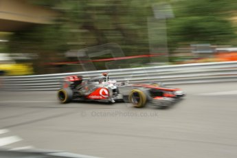 © Octane Photographic Ltd. 2012. F1 Monte Carlo - Race. Sunday 27th May 2012. Jenson Button - McLaren. Digital Ref : 0357cb1d7825