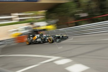© Octane Photographic Ltd. 2012. F1 Monte Carlo - Race. Sunday 27th May 2012. Vitaly Petrov - Caterham. Digital Ref : 0357cb1d7834