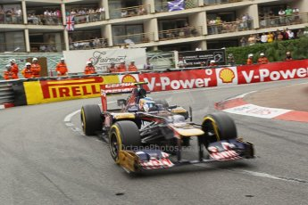 © Octane Photographic Ltd. 2012. F1 Monte Carlo - Race. Sunday 27th May 2012. Jean-Eric Vergne. Digital Ref : 0357cb1d7883