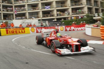 © Octane Photographic Ltd. 2012. F1 Monte Carlo - Race. Sunday 27th May 2012. Felipe Massa - Ferrari. Digital Ref : 0357cb1d7899