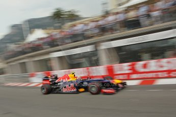 © Octane Photographic Ltd. 2012. F1 Monte Carlo - Race. Sunday 27th May 2012. Mark Webber - Red Bull. Digital Ref : 0357cb1d8002