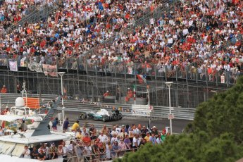 © Octane Photographic Ltd. 2012. F1 Monte Carlo - Race. Sunday 27th May 2012. Nico Rosberg - Mercedes. Digital Ref : 0357cb7d0437