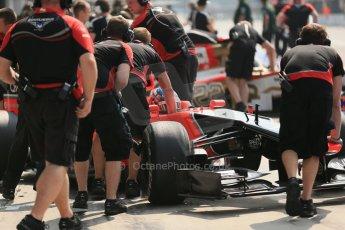© 2012 Octane Photographic Ltd. Italian GP Monza - Saturday 8th September 2012 - F1 Qualifying. Marussia MR01 - Charles Pic. Digital Ref :
