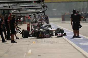 © 2012 Octane Photographic Ltd. Italian GP Monza - Saturday 8th September 2012 - F1 Qualifying. Toro Rosso STR7 - Daniel Ricciardo. Digital Ref :