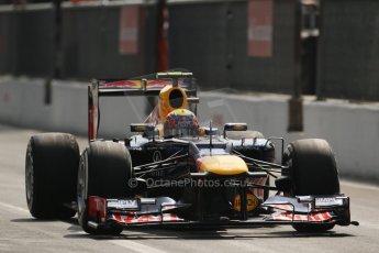 © 2012 Octane Photographic Ltd. Italian GP Monza - Saturday 8th September 2012 - F1 Qualifying. Red Bull RB8 - Mark Webber. Digital Ref :
