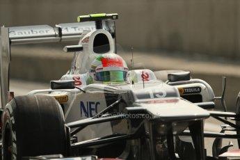 © 2012 Octane Photographic Ltd. Italian GP Monza - Saturday 8th September 2012 - F1 Qualifying. Sauber C31 - Sergio Perez. Digital Ref :