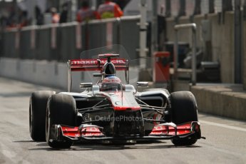 © 2012 Octane Photographic Ltd. Italian GP Monza - Saturday 8th September 2012 - F1 Qualifying. McLaren MP4/27 - Jenson Button. Digital Ref : 0513lw7d8322