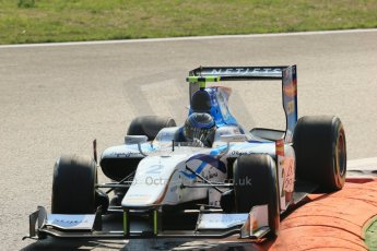 © 2012 Octane Photographic Ltd. Italian GP Monza - Friday 7th September 2012 - GP2 Qualifying - Barwa Addax team - Jake Rosenweig. Digital Ref : 0508lw1d0021