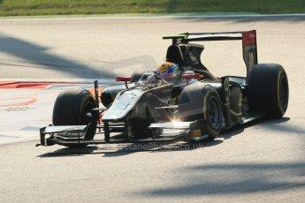 © 2012 Octane Photographic Ltd. Italian GP Monza - Friday 7th September 2012 - GP2 Qualifying - Lotus GP - Esteban Gutierrez. Digital Ref : 0508lw1d0075