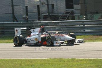 © 2012 Octane Photographic Ltd. Italian GP Monza - Friday 7th September 2012 - GP2 Qualifying - Rapax - Ricardo Teixera. Digital Ref : 0508lw1d0249