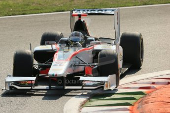 © 2012 Octane Photographic Ltd. Italian GP Monza - Friday 7th September 2012 - GP2 Qualifying - Rapax - Ricardo Teixera. Digital Ref : 0508lw1d0257