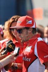 World © Octane Photographic Ltd. Formula 1 Italian GP, Press Conference 6th September 2012 - Fernando Alonso - Ferrari. Digital Ref : 0494lw1d9112