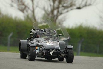 © Octane Photographic Ltd. Motors TV day – Donington Park,  Saturday 31st March 2012. Caterham Graduates - Mega and Classic classes. Digital ref : 0267cb1d9485