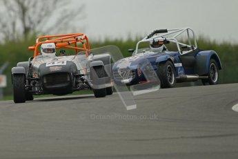 © Octane Photographic Ltd. Motors TV day – Donington Park,  Saturday 31st March 2012. Caterham Graduates - Mega and Classic classes. Digital ref : 0267cb1d9491