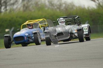 © Octane Photographic Ltd. Motors TV day – Donington Park,  Saturday 31st March 2012. Caterham Graduates - Mega and Classic classes. Digital ref : 0267cb1d9500