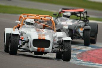© Octane Photographic Ltd. Motors TV day – Donington Park,  Saturday 31st March 2012. Caterham Graduates - Mega and Classic classes. Digital ref : 0267cb1d9919
