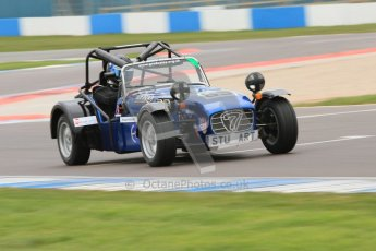 © Octane Photographic Ltd. Motors TV day – Donington Park,  Saturday 31st March 2012. Caterham Graduates - Mega and Classic classes. Digital ref : 0267cb7d6169