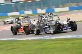© Octane Photographic Ltd. Motors TV day – Donington Park,  Saturday 31st March 2012. Caterham Graduates - Mega and Classic classes. Digital ref : 0267cb7d6172