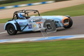 © Octane Photographic Ltd. Motors TV day – Donington Park,  Saturday 31st March 2012. Caterham Graduates - Mega and Classic classes. Digital ref : 0267cb7d6226