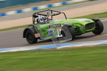 © Octane Photographic Ltd. Motors TV day – Donington Park,  Saturday 31st March 2012. Caterham Graduates - Mega and Classic classes. Digital ref : 0267cb7d6233