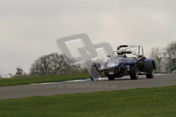 © Octane Photographic Ltd. Motors TV day – Donington Park,  Saturday 31st March 2012. Caterham Graduates - Mega and Classic classes. Peter Marsh. Digital ref : 0267lw7d7846