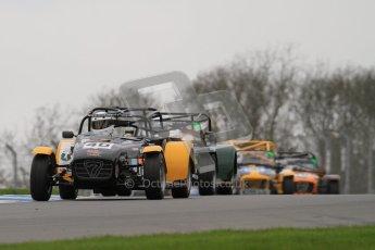 © Octane Photographic Ltd. Motors TV day – Donington Park,  Saturday 31st March 2012. Caterham Graduates - Mega and Classic classes. Digital ref : 0267lw7d7926