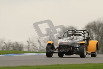© Octane Photographic Ltd. Motors TV day – Donington Park,  Saturday 31st March 2012. Caterham Graduates - Mega and Classic classes. Digital ref : 0267lw7d7989